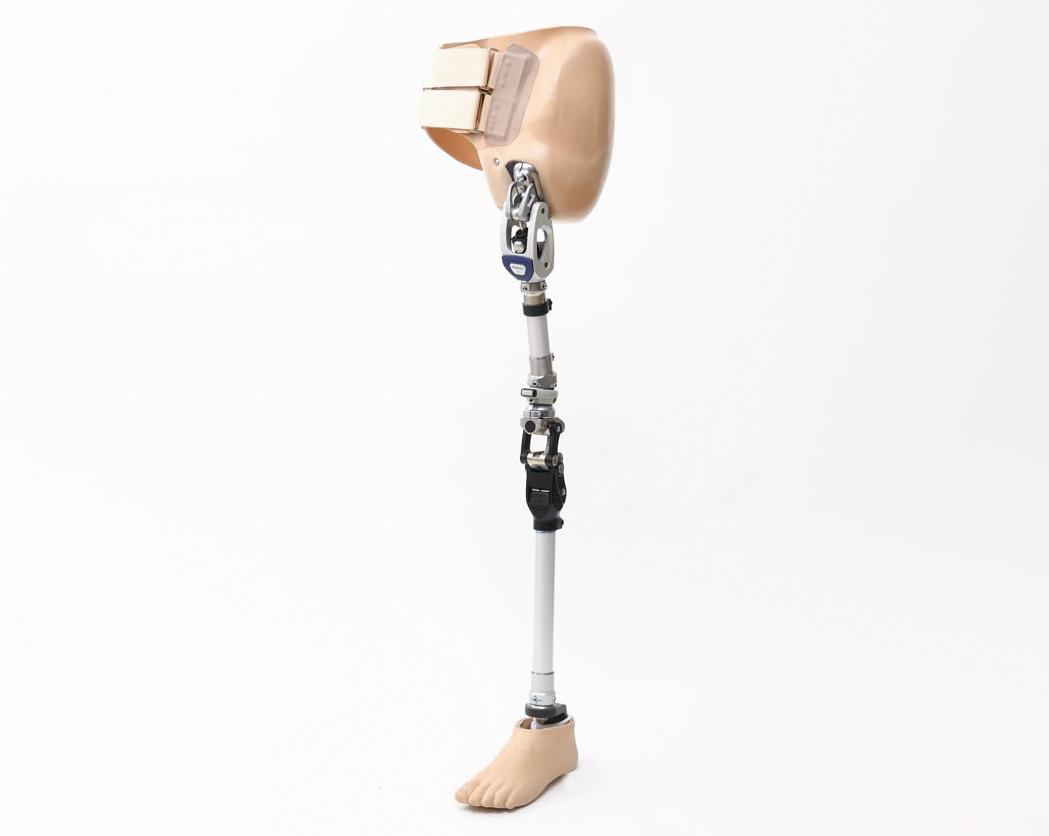 股義足骨格構造製品写真