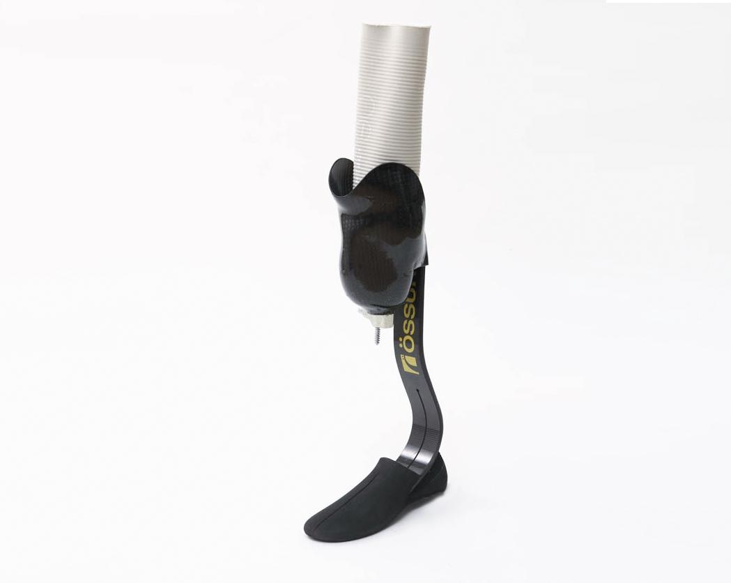 下腿義足骨格構造製品写真